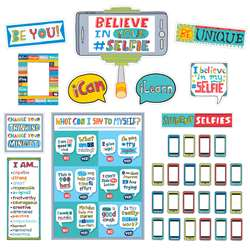 "Believe "" Your Selfie Bulletin Board Set, CTP2959"