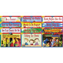 Character Education 12 Books Variety Pk 1 Each 3123-3134 By Creative Teaching Press