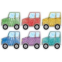 "6"" Safari Friend Vehicles Cutout Designer Off Roa, CTP3281"