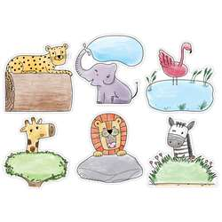 "10"" Safari Friends Designer Cutout, CTP3379"