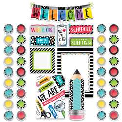 Bold Bright Welcome Bulletin Board Set, CTP3996