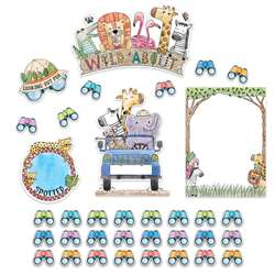 Safari Friends Wild About Bulletin Board Set, CTP3997
