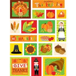 Thanksgiving Fun Stickers, CTP4045