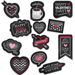 Valentines Day Chalk Reward Stickers, CTP4049