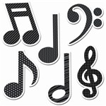 Shop Music Symbols 6In Designer Cut Outs - Ctp4879 By Creative Teaching Press