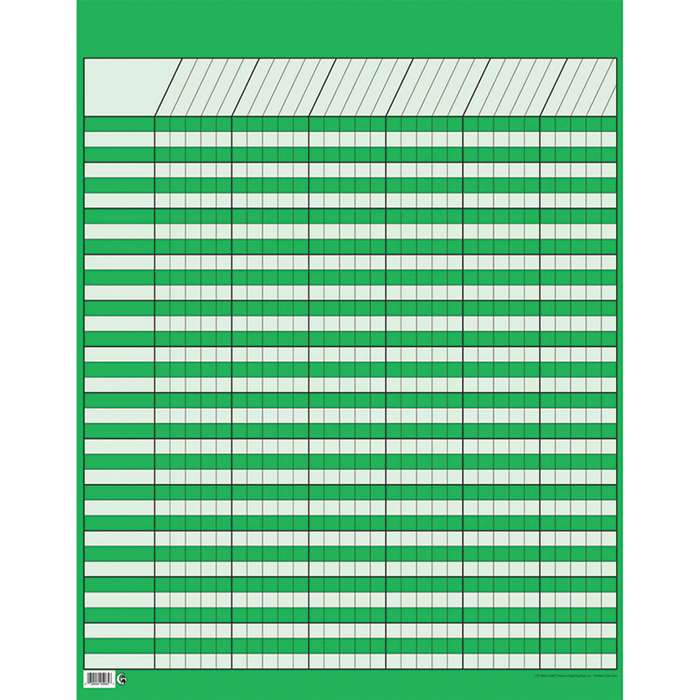 Lg Green Vertical Incentive Chart By Creative Teaching Press