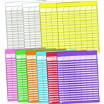 Large Vertical Incentive Chart 10/Pk 22 X 28 Assorted By Creative Teaching Press