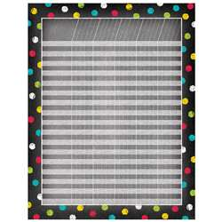 Dots On Chalkboard Incentive Chart, CTP5325