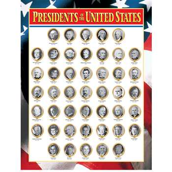 Us Presidents By Creative Teaching Press