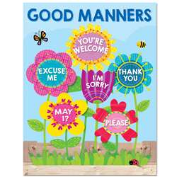 Garden Of Good Manners Chart, CTP5556