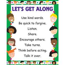 Chart Lets Get Along By Creative Teaching Press