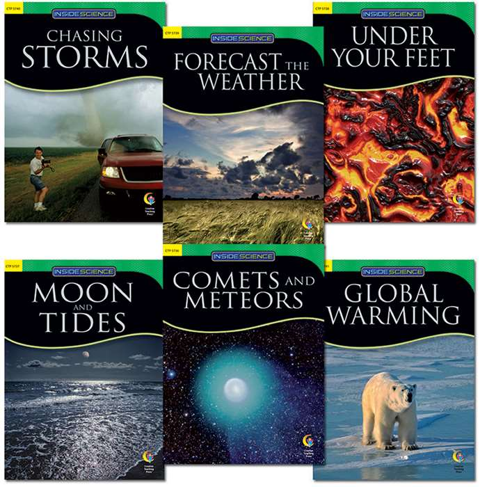 Earth And Space Science Variety Pk 6 Books By Creative Teaching Press
