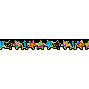 Poppin Patterns Stars Border By Creative Teaching Press