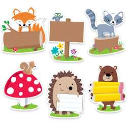 "6"" Woodland Friend Designer Cutout, CTP6099"