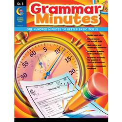Grammar Minutes Gr 3 By Creative Teaching Press