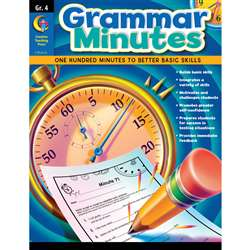 Grammar Minutes Gr 4 By Creative Teaching Press