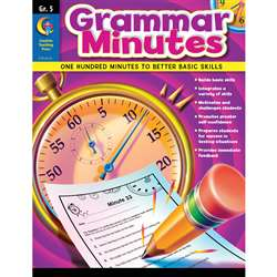Grammar Minutes Gr 5 By Creative Teaching Press