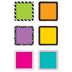 "3"" Colorful Cards Cutout Bold And Bright, CTP6350"