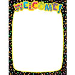 Welcome Chart By Creative Teaching Press