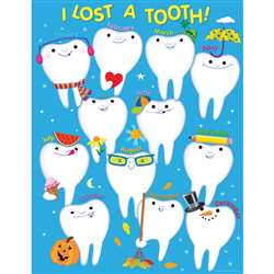 I Lost A Tooth Chart By Creative Teaching Press