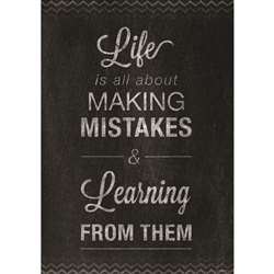 Mistakes Poster, CTP6681