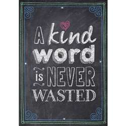 A Kind Word Is Never Wasted Poster, CTP6696