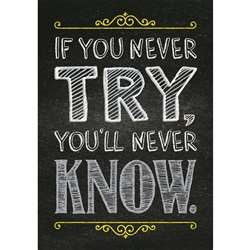 If You Never Try Poster, CTP6745