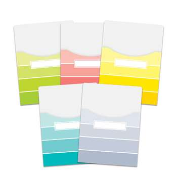 Paint Chips 9X12 Library Pockets, CTP6926