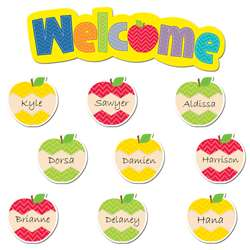 Shop Apples Welcome Mini Bulletin Board - Ctp6956 By Creative Teaching Press