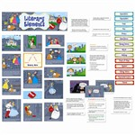 Literary Elements Mini Bulletin Board Set By Creative Teaching Press
