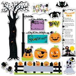 Happy Halloween Mini Bulletin Board Set, CTP6980