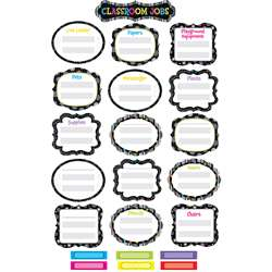 Black And White Classroom Jobs Mini Bulletin Board Sets By Creative Teaching Press