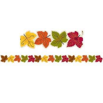 Maple Leaves Border By Creative Teaching Press