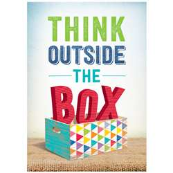 Think Outside The Box Inspire U Poster, CTP7288