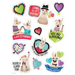 Llama Be My Valentine Stickers Incentive, CTP8010