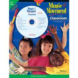 Music & Movement In The Classroom Gr Pk-K By Creative Teaching Press
