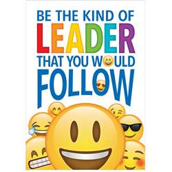 Be The Kind Leader Inspire U Poster Emoji Fun, CTP8098