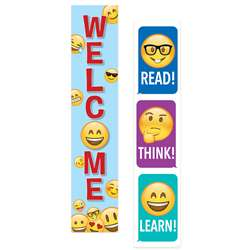 Emoji Fun 2 Sided Banner, CTP8152