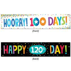 100Th Day And 120Th Day Banner, CTP8156