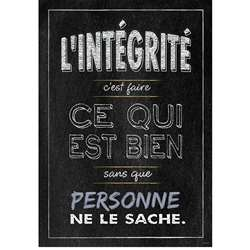 Lintegrite French Inspire U Poster, CTP8173