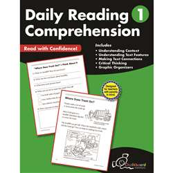 Gr1 Reading Comprehension Workbook Daily, CTP8181