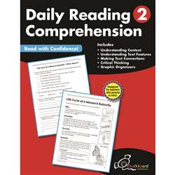 Gr2 Reading Comprehension Workbook Daily, CTP8182