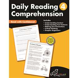 Gr4 Reading Comprehension Workbook Daily, CTP8184