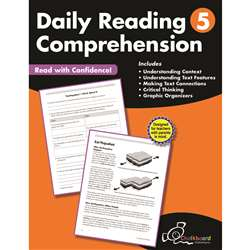 Gr5 Reading Comprehension Workbook Daily, CTP8185