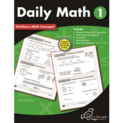 Gr1 Daily Math Workbook, CTP8187