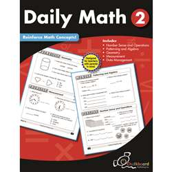 Gr2 Daily Math Workbook, CTP8188