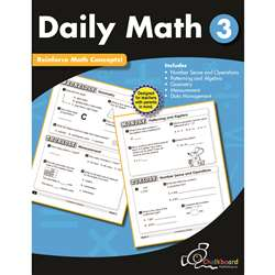 Gr3 Daily Math Workbook, CTP8189
