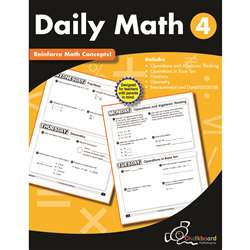 Gr4 Daily Math Workbook, CTP8190