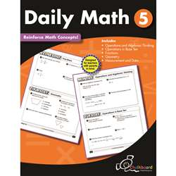 Gr5 Daily Math Workbook, CTP8191