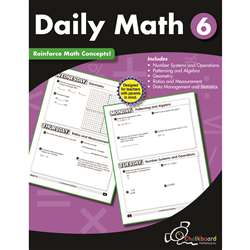 Gr6 Daily Math Workbook, CTP8192